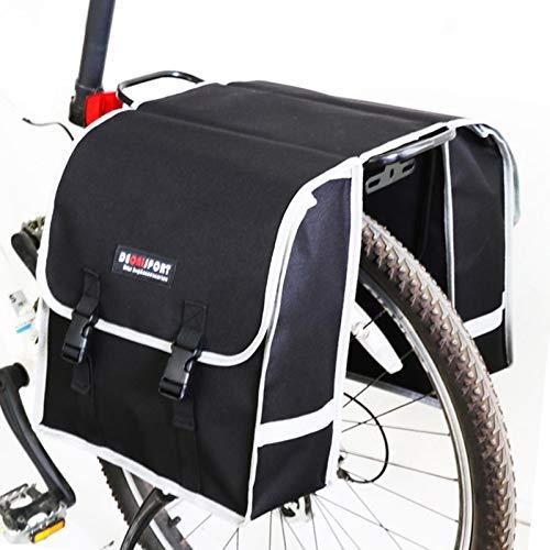 Bolsa De Sillín De Bicicleta Bolsa De Rejilla Trasera Impermeable Para Bicicleta Asiento De Bicicleta Bolsa De Transporte Trasera Para Bicicleta Bolsa De Almacenamiento De Bicicleta De Carretera