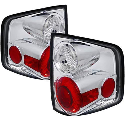 Carpartsinnovate For 94-04 Chevy S10 GMC Sonoma 95-00 Isuzu Hombre Clear Rear Tail Lights Brake Lamp