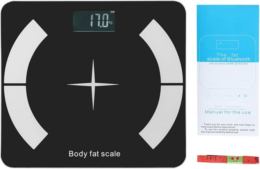 Pelnotac Bluetooth Body Fat Spasm price Scale Weight S Digital store LCD Bathroom