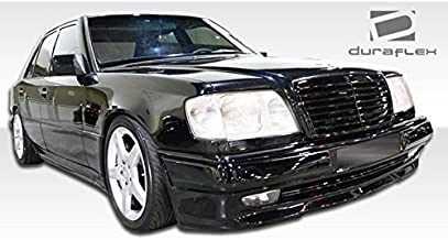 1986-1995 Mercedes Benz E-Class 4DR W124 Duraflex C36 Look Kit - Includes C36 Look Front Bumper (105064), C36 Look Rear Bumper (105065), and AMG Style Sideskirts (105061). - Duraflex Body Kits