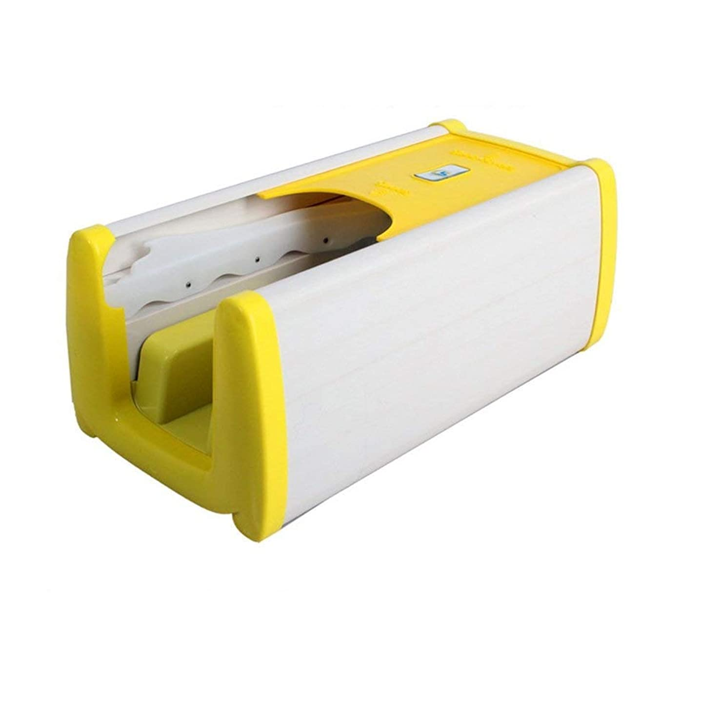 胴体経営者コーデリア家庭用靴カバーマシン連続自動靴カバーマシンドラッグ型オーバーシューズマシンホームオフィス自己使用の小さな環境保護 (Color : Yellow)