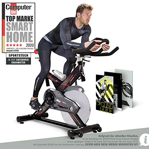 Sportstech SX400 - Cyclette Professionale per Interni