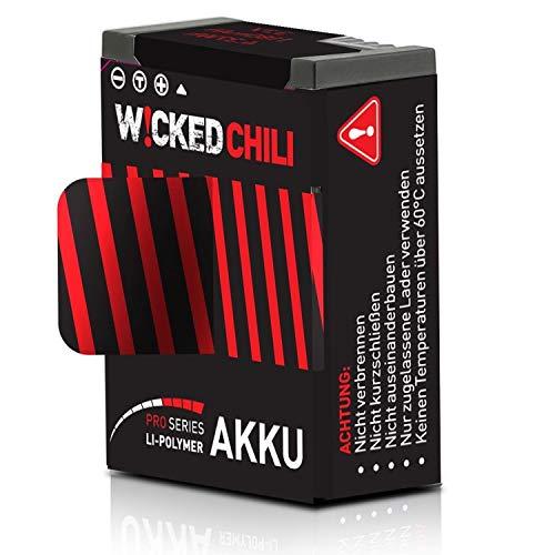 Chili Wicked 1180 mAh de la batería para GoPro héroe 03.03 (Pro Series, 3,7 V / 04:37 W / 1.18a, el Tiempo de grabación de hasta 118 Minutos reemplazados AHDBT-302 / AHDBT-301)