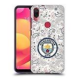 Head Case Designs Officiel Manchester City Man City FC Third 2020/21 Badge Kit Coque en Gel Doux...