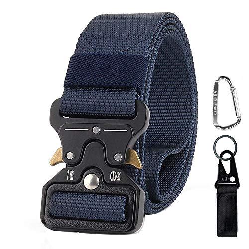 CoWalkers Cinturón táctico de, Estilo Militar Correa de Cintura de Nylon de Alta Resistencia Cinturón…