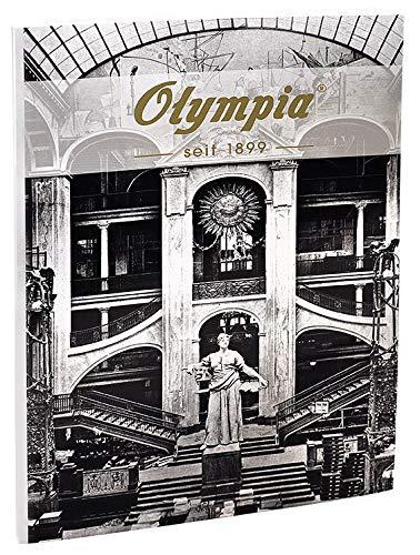 Olympia Blanko Notizbuch, 160 Seiten, A4 Format