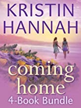 Kristin Hannah's 4-book COMING HOME SET -- On Mystic Lake / Summer Island / Distant Shores / Home Again