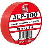 Dpm Tapes - ACP 100 - Nastro Biadesivo Trasparente In Schiuma Acrilica Extraforte Per Montaggio Invisibile (19 mm x 5 m) - 1 pezzo