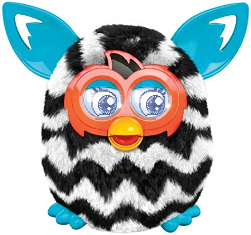 [UK-Import]Furby Boom - schwarz and Weiß Zig-Zag Stripes