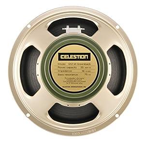 "Celestion G12M Greenback 12"" – 25 Watt – 16 Ohm"