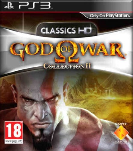PS3 GOD OF WAR COLLECTION VOLUME II HD COLLECTION