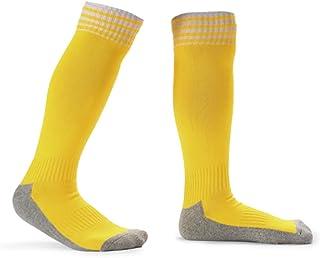 Explopur Kid'S Football Socks,Kid's Breathable Football Socks High Tube Socks Boys Girls Over Knee Sports Socks