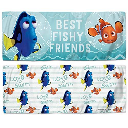 """WinCraft Disney Disney Disney NEMO & Dory Best Fishy Friends Cooling Towel 12"""" x 30"""" Disney NEMO & Dory Best Fishy Friends Cooling Towel 12"""" x 30"""", Multicolor, NA"""