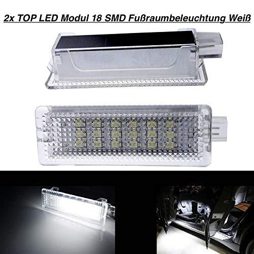 2 modules Top LED 18 SMD pour éclairage de plancher blanc (BM-030104)
