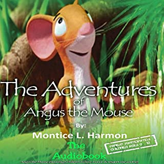 The Adventures of Angus the Mouse audiobook cover art