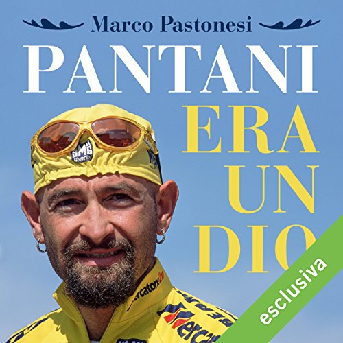 Pantani era un dio audiobook cover art