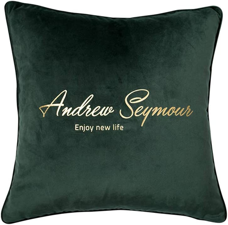 Max 79% OFF Sofa pillow Cheap mail order specialty store Mao ZE QU Simple Velvet Pillow Modern Be Living Room