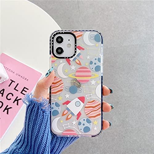 TDG Funda para iPhone 12 Mini 11 Pro Max Xr Xs Max X 6 S 7 8 Plus Se 2020 Funda linda suave para iPhone 12Pro Ws460-2