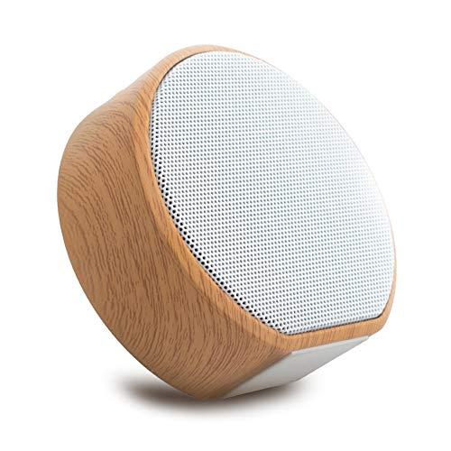 JIE. Altavoz Bluetooth, Altavoz inalámbrico portátil, Tiempo de reproducción de 4-5 Horas, Rango de Bluetooth de 10 Metros