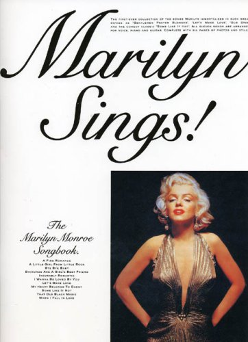Partition : Monroe Marilyn Sings Songbook