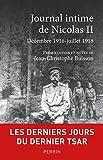 Journal intime de Nicolas II - Format Kindle - 9782262076702 - 11,99 €