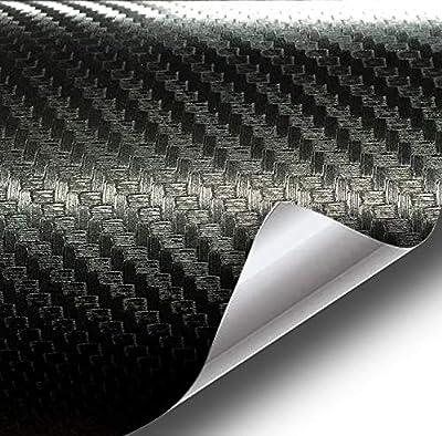 VViViD XPO Black Carbon Fiber Car Wrap Vinyl Roll Featuring Air Release Technology