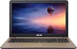 华硕 VivoBook X540NA 15.6 英寸高清?#22987;?#26412;电脑(巧克力黑色)(4 GB 内存,1 TB 硬盘,Windows 10)X540NA-GQ232T??????  Intel Pentium Processor