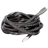 NUZAMAS Operazione di perforazione Drain Cleaner Augers Spring Cable 5M (16ft) 16mm per la...