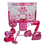 IndusBay Kitchen & Household Utility Toy Set for Kids Working Household Appliances Toy