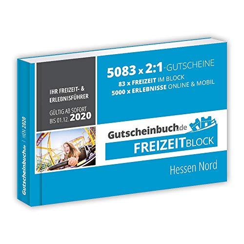 Gutscheinbuch.de Freizeitblock Hessen Nord 2019/20