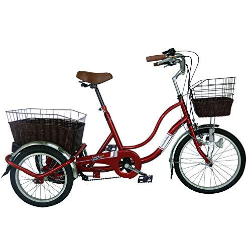 ミムゴ(MIMUGO) SWING CHARLIE911 ノーパンク三輪自転車G MG-TRW20NG