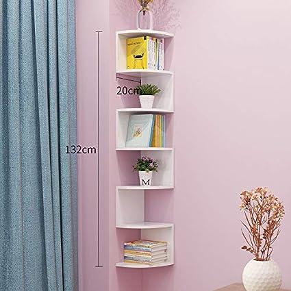 Corner Shelf Estantería de Libros de Esquina/Estante de ...