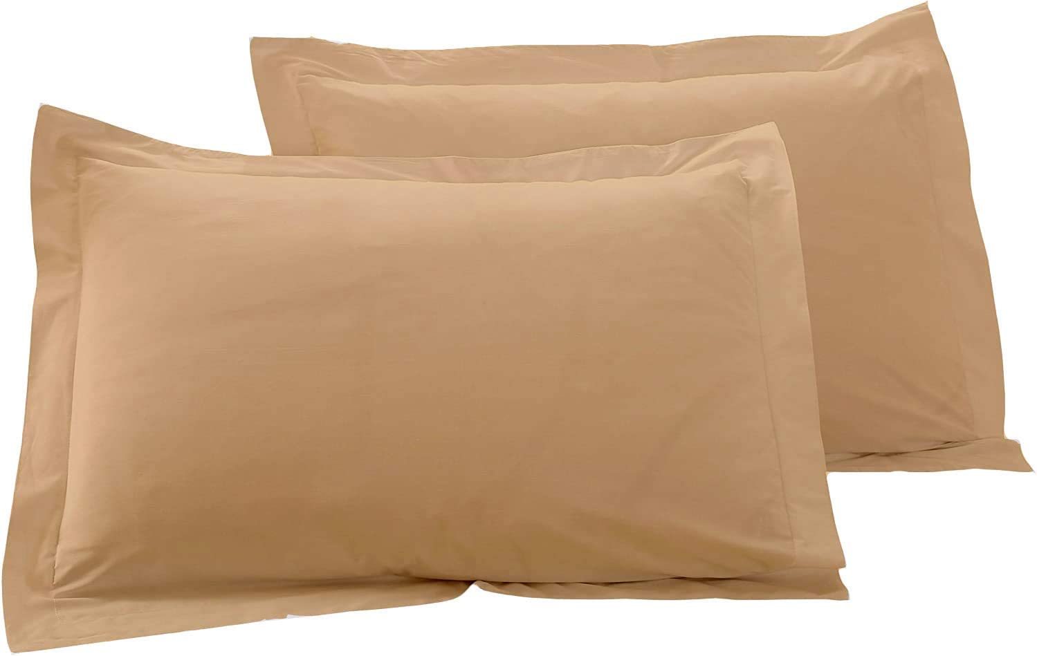 Basics Decor Luxurious 1000 Large discharge sale TC Bed 2 Cover of Pillow Pie Set Attention brand