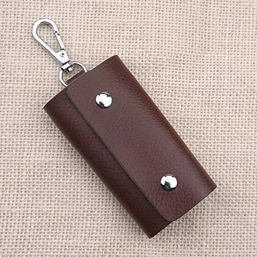 FENGYUN Sleutel Snoep Kleur Leer Cadeau Aanpassing Lederen Card Portemonnee Unisex H