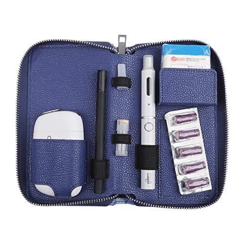 プルームテック プルームエス用のケース 織柄 Ploom S 収納ケース 防水 大容量 スリム プルームテックプラス 全部収納 コンパクト ケース 撥水性 衛生 電子タバコ 財布型