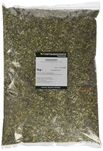 JustIngredients Echtes Mädesüß, Meadowsweet, 1er Pack (1 x 1 kg)