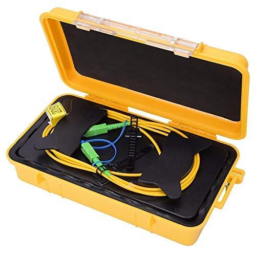 500M OTDR Verlängerungskabel,Glasfaser OTDR Einführungskabel Box SC/APC SC/APC OTDR Glasfaserring Singlemode 500M,OTDR Glasfaser Tester Glasfaser Patchbox Glasfaser Startkabelbox OTDR