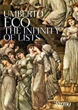 The Infinity of List by Umberto Eco (2009-09-20)