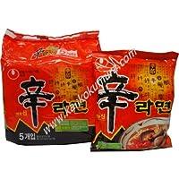 農心 辛ラーメン(袋) 1パック(120g×5袋入り)