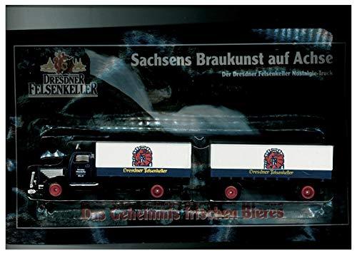 Dresdner Felsenkeller Nr.03 - Sachsens Braukunst auf Achse - MAN Büssing 7500S - Hängerzug Oldie
