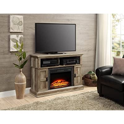 """Whalen Media Fireplace Console for Flat Panel TVs up to 55"""""""