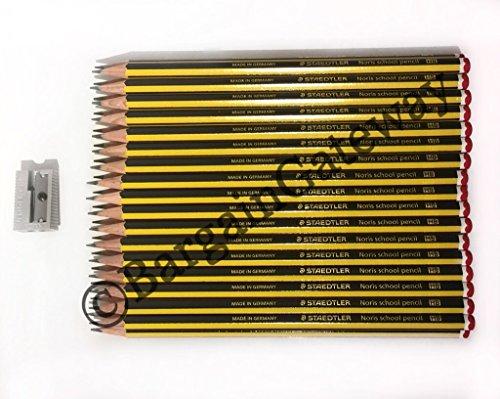 Staedtler Noris-Matita HB, confezione da 36, con temperamatite Staedtler in alluminio