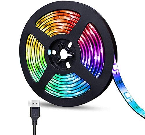 Preisvergleich Produktbild SUNTEC 50cm LED RGB Strip Mehrfarbig wasserdicht+ MINI Controller + USB 2.0 Kabel RU50