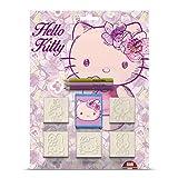 Multiprint - 5803 - Loisir Créatif - Blister 5 Tampons - Hello Kitty