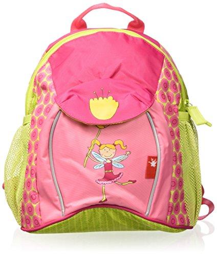 SIGIKID 24452 Rucksack groß Florentine Mädchen Kinderrucksack empfohlen ab 3 Jahren grün/rosa