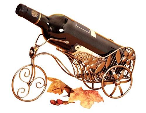 Flaschenhalter Fahrrad Metall Flaschenständer Weinflaschenhalter Metallständer Geschenk