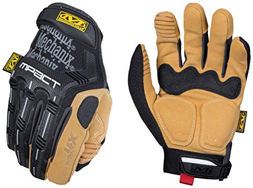 Mechanix Wear: Material4X M-Pact Work Gloves (Small, Brown/Black)