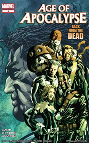 X-MAN: BACK FROM THE DEAD #vol:01: Age of Apocalypse (English Edition)