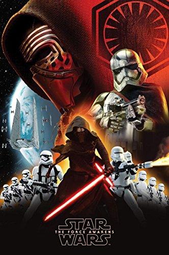 Póster Star Wars: Episodio VII The Force Awakens/El Despertar de la Fuerza 'Colaje de la Primera Orden' (61cm x 91,5cm)