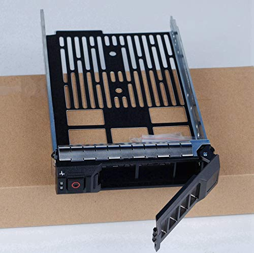 Heretom - 2 Unidades Bandeja de Disco Duro Caddie f238f SAS/SATA Caddy Tray para DELL PowerEdge Server R820 R720 R720xd T710 R710 T620 T610 R510 R420 R410 T430 T410 T330 T310 R310 R320 y más